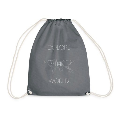 EXPLORE THE WORLD - Mochila saco