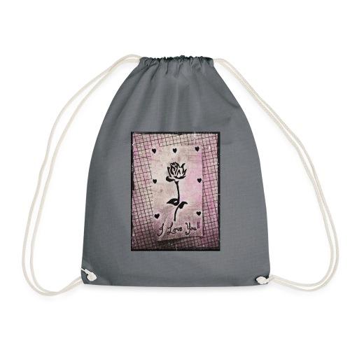 Love Blossom - Drawstring Bag