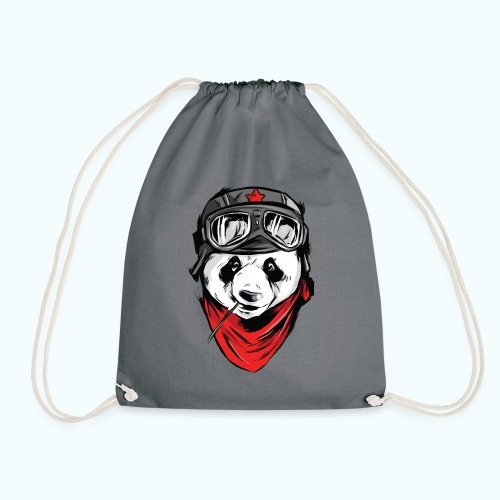 Panda pilot - Drawstring Bag