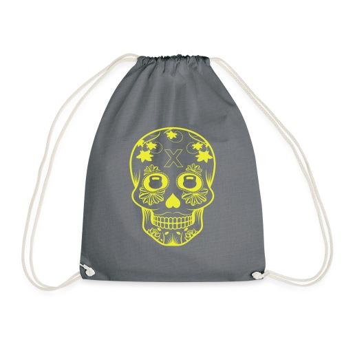 skull design - Gymnastikpåse