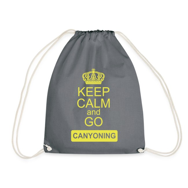 keep calm and go canyoning 2