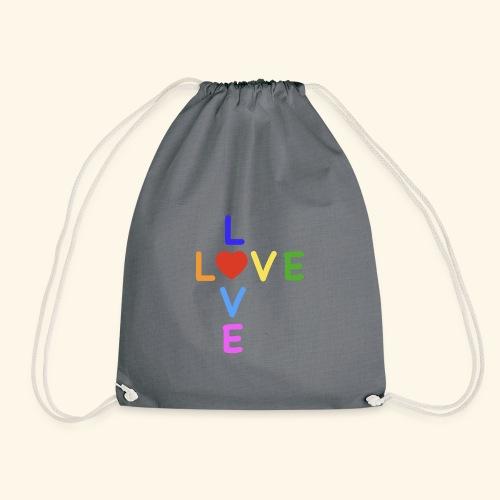 Rainbow Love. Regenbogen Liebe - Turnbeutel