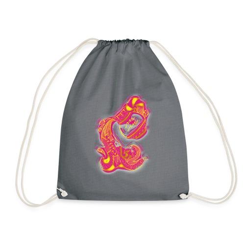 Aquarius Sign Water Vase - Drawstring Bag