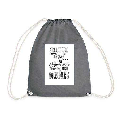 Debtors - Drawstring Bag