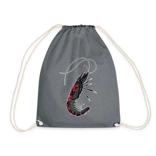 shrimp-U #splashedBlack - Sacca sportiva