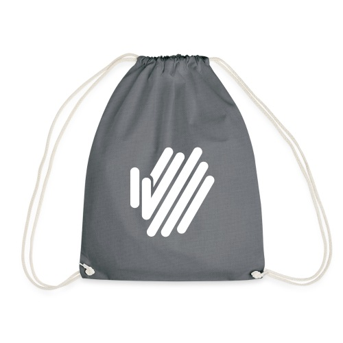 icon white 1x - Drawstring Bag