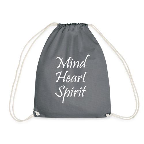Mind Heart Spirit - Drawstring Bag