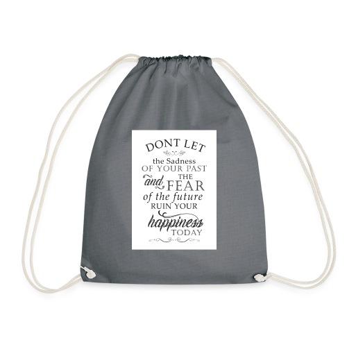 Don't be Afraid - Drawstring Bag