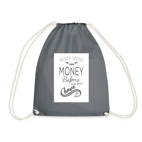 Spending is the season - Drawstring Bag