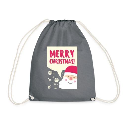 Merry Christmas! - Drawstring Bag