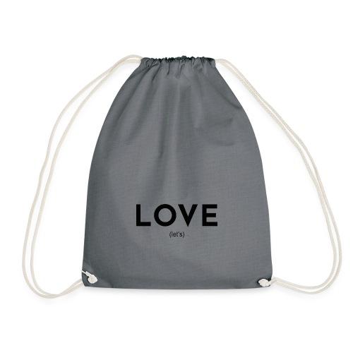 love (let's) - Turnbeutel