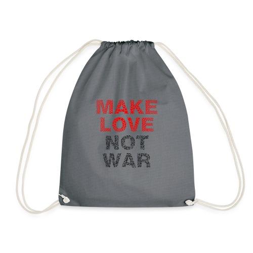 Liebe-Krieg - Turnbeutel