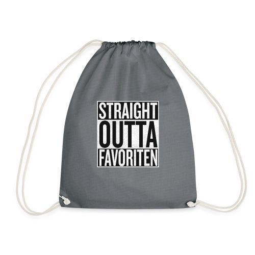 Straight Outta Favoriten - Turnbeutel
