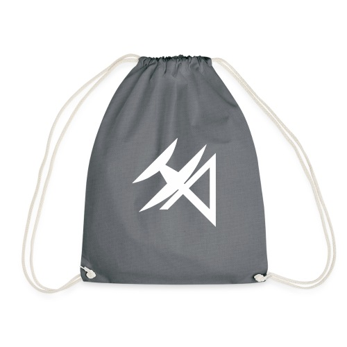 logo HA BLANCO - Drawstring Bag
