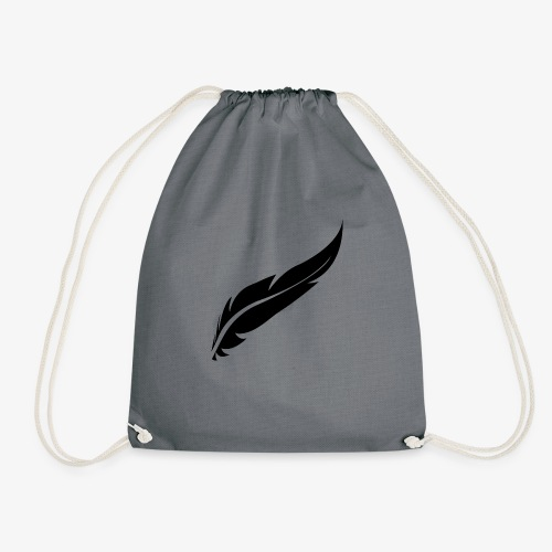 logo plume black - Sac de sport léger