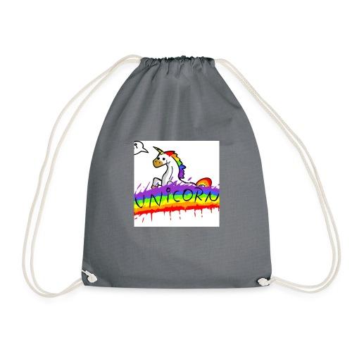 Unicorn klipklapper - Sportstaske