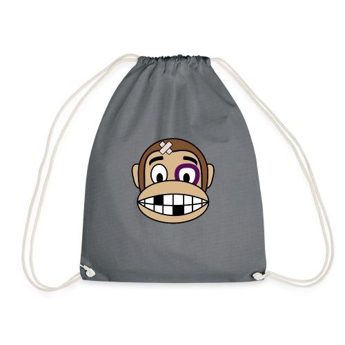 Bruised Monkey - Drawstring Bag
