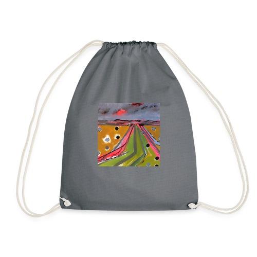 Marshland Pattern - Drawstring Bag