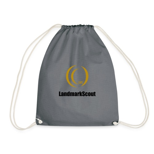 Tshirt Yellow Front logo 2013 png - Drawstring Bag