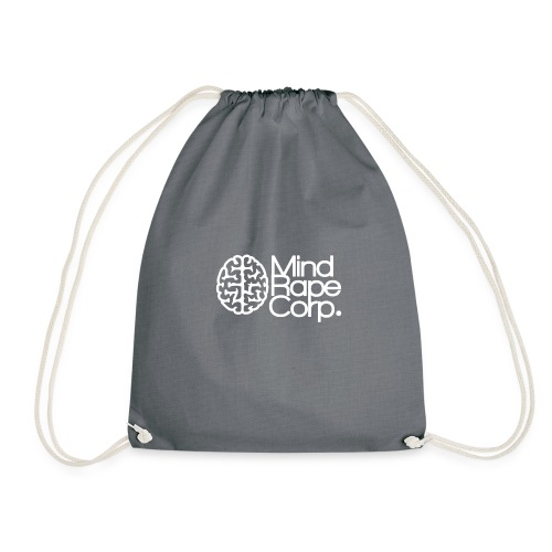 MindRape Corp Snapback Hat Black-Gray - Drawstring Bag