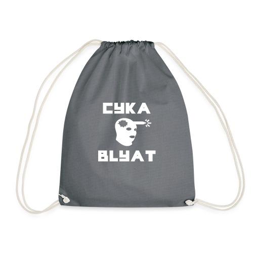 CYKA_BLYAT-png - Drawstring Bag