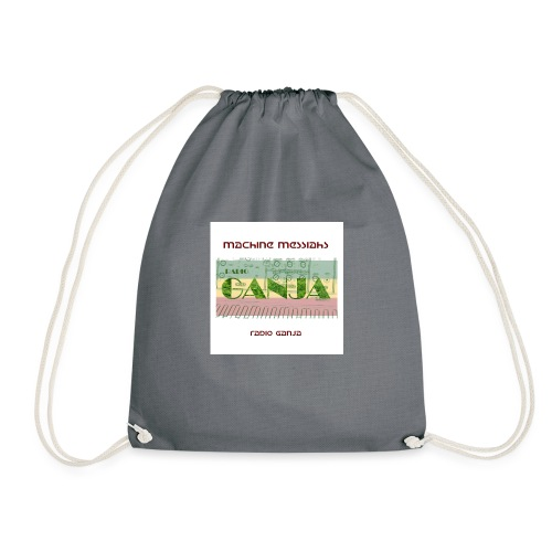 radio ganja - Drawstring Bag