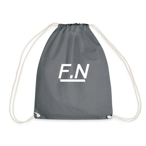 F.N Logo (Zwart-Shirt) Mannen - Gymtas