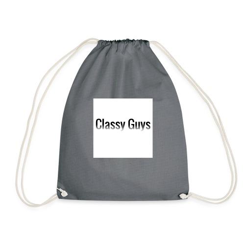 Classy Guys Simple Name - Drawstring Bag