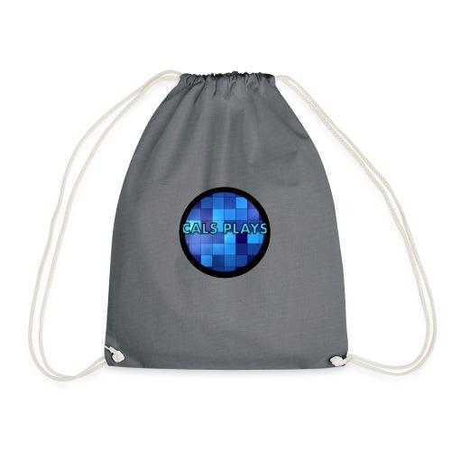 Cals Plays Logo - Drawstring Bag