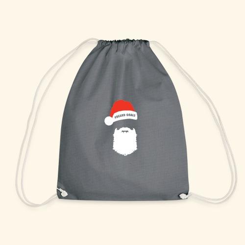Beard Goals Santa - Drawstring Bag