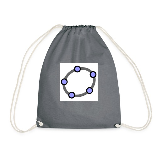GeoGebra Ellipse - Drawstring Bag