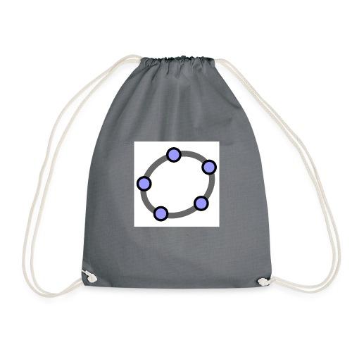 GeoGebra Ellipse - Drawstring Bag