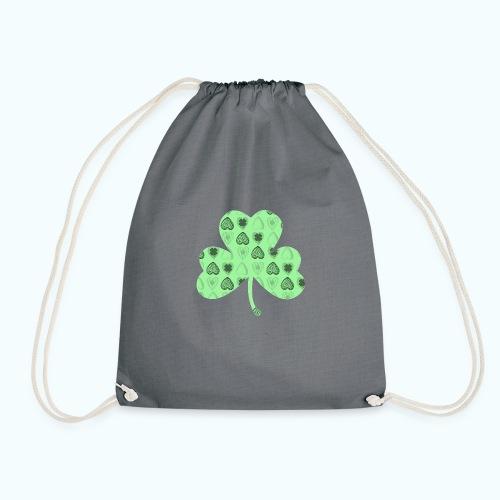 Glücksbringer Kleeblatt - Drawstring Bag