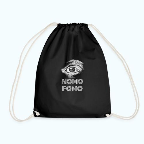 NOMO FOMO - Drawstring Bag