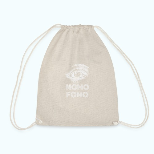 NOMO FOMO - Drawstring Bag