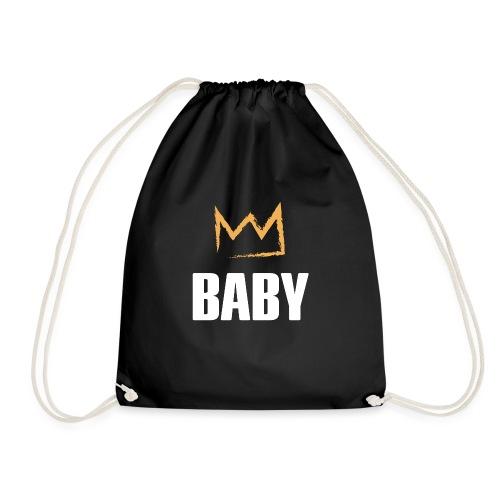 Baby mit Krone - Turnbeutel