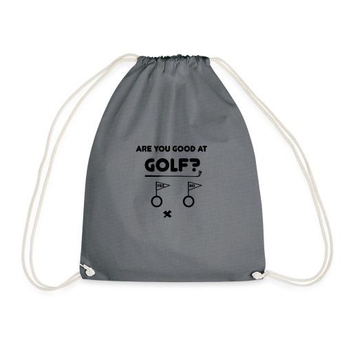 Golf, golfen, Golfer, golfing - Turnbeutel