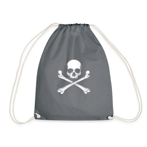 Jolly Roger - Pirate Skull Flag - Drawstring Bag