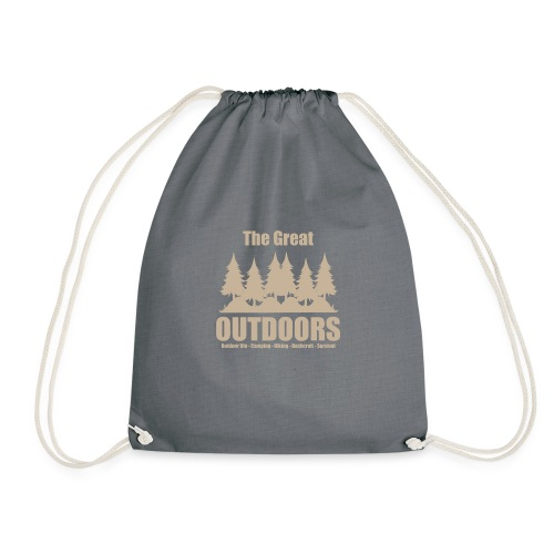 The great outdoors - Clothes for outdoor life - Drawstring Bag