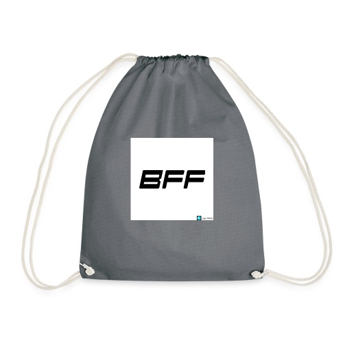 white BFF - Gymnastikpåse