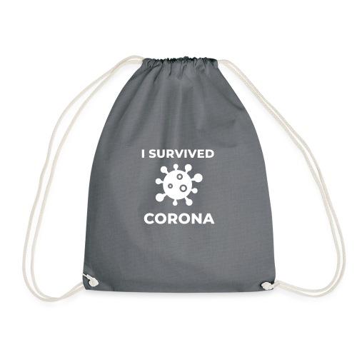 I survived Corona (DR23) - Turnbeutel