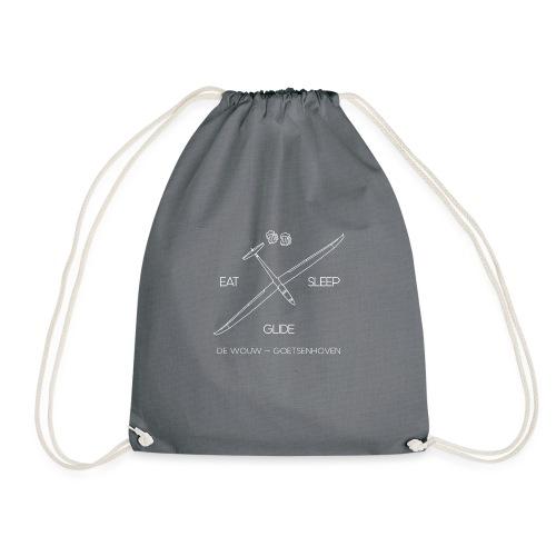 Eat Sleep Glide De Wouw - Drawstring Bag
