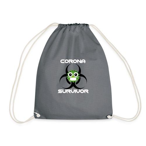 Corona Survivor - Turnbeutel