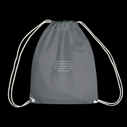 His Words - Drawstring Bag
