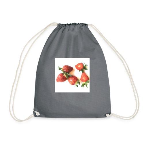 Rode Erdbeern - Turnbeutel