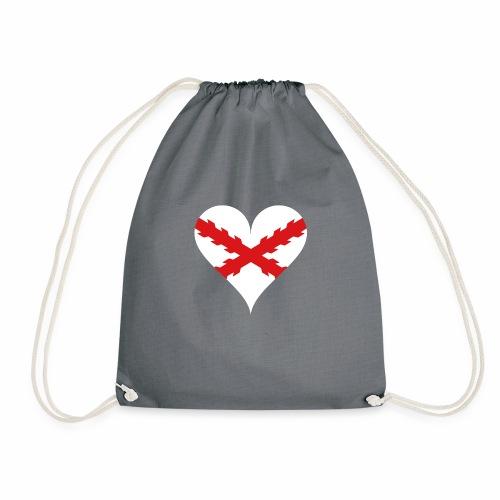 Corazón Borgoña - Mochila saco