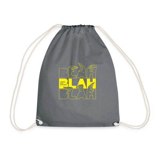 Blah - Drawstring Bag