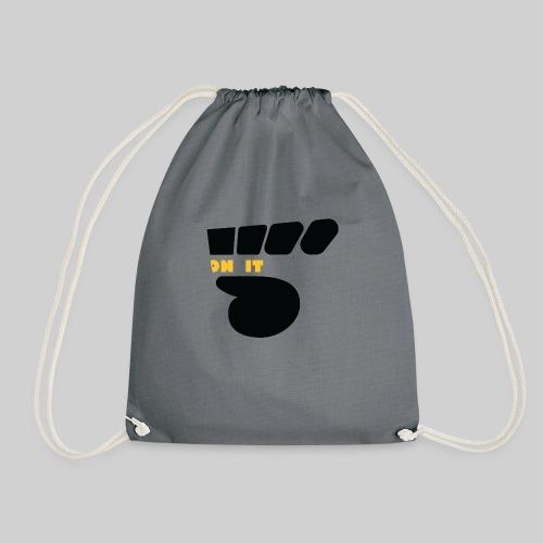 Logo 5 on It noir / jaune - Sac de sport léger