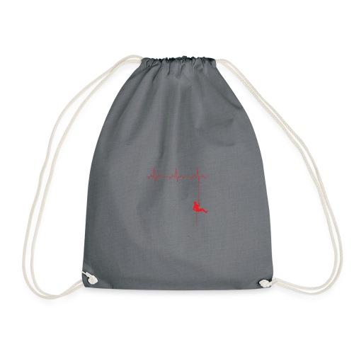 Love Rappelling ECG - Drawstring Bag