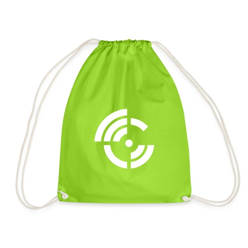 electroradio.fm logo - Drawstring Bag